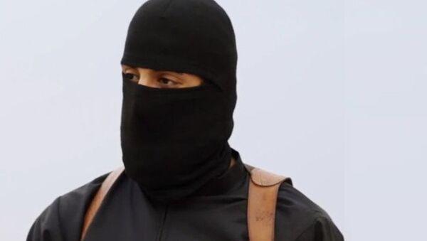 Islamic State militant known as Jihadi John - Sputnik International