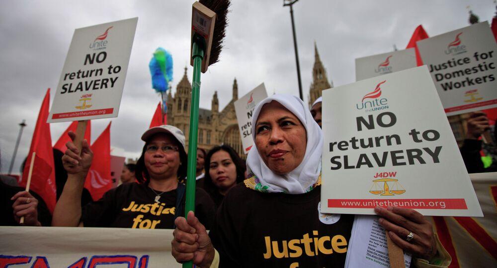 Migrants in London