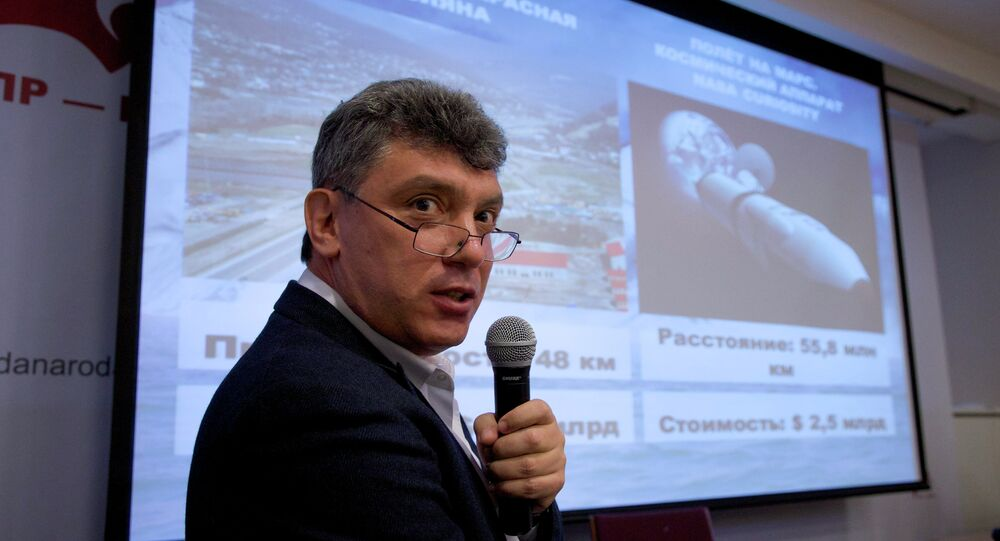 Russian opposition politician Boris Nemtsov was shot to death in central Moscow late Friday, Interfax reports.