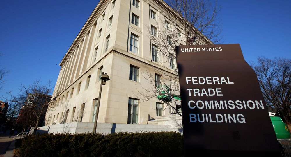 The Federal Trade Commission building in Washington