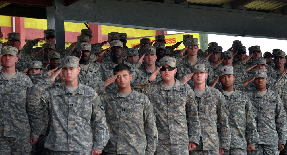 US soldiers of the 101st Airborne Division (Air Assault)