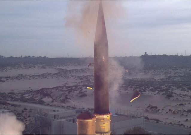 Feb. 25, 2013 - The Israel Missile Defense Organization (IMDO) and the U.S. Missile Defense Agency (MDA) completed a successful flight test of the Arrow-3 interceptor missile.