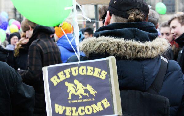 Antiracism Demo in Dresden - Sputnik International