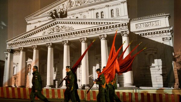 Victory Day Parade rehearsal on Red Square in Moscow - Sputnik International