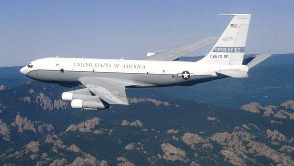 Boeing OC-135B Open Skies aircraft - Sputnik International