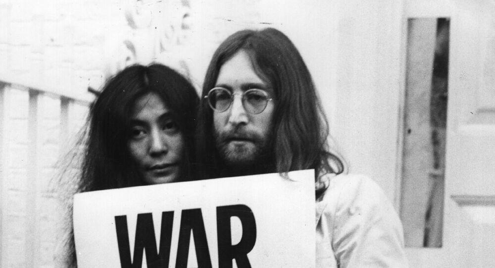 John Lennon and Yoko Ono campaigned against the Vietnam War.