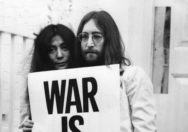 John Lennon and Yoko Ono campaigned against the Vietnam War.