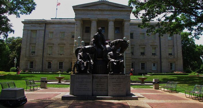 State Capitol Building in Raleigh, North Carolina