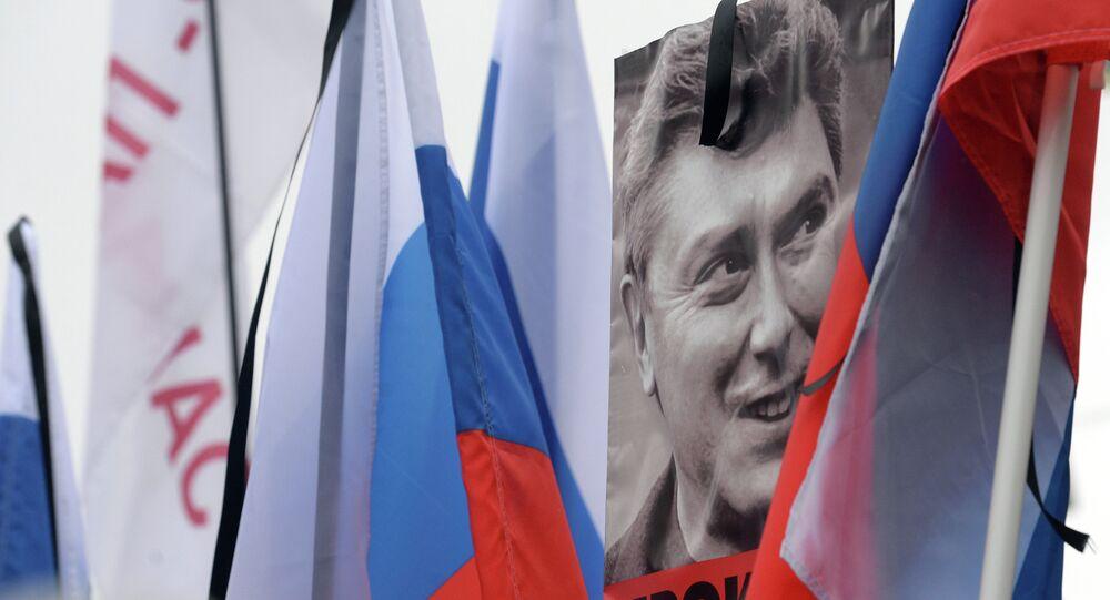 Moscow march mourns politician Boris Nemtsov
