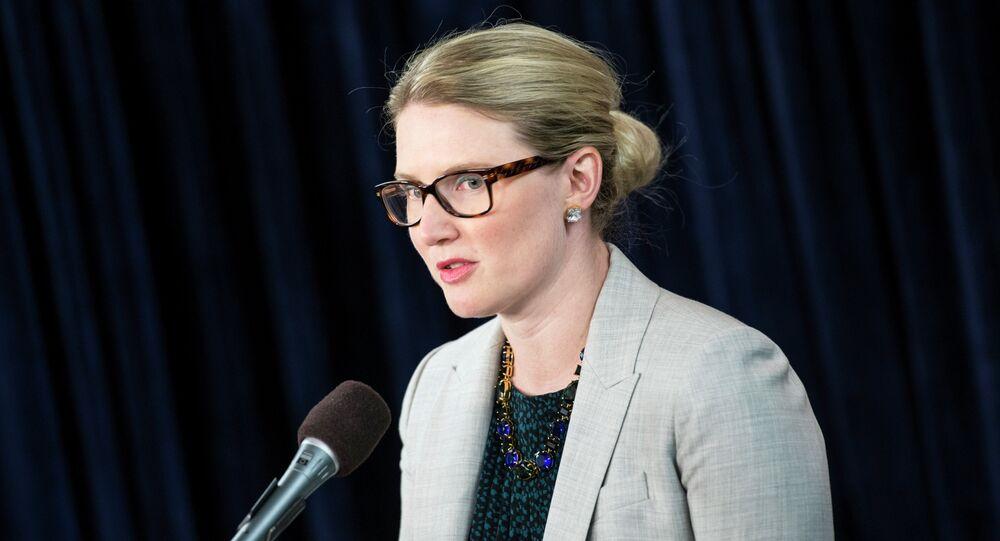 State Department Spokeswoman Marie Harf