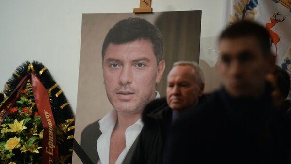 Paying last respects to politician Boris Nemtsov in Moscow - Sputnik International