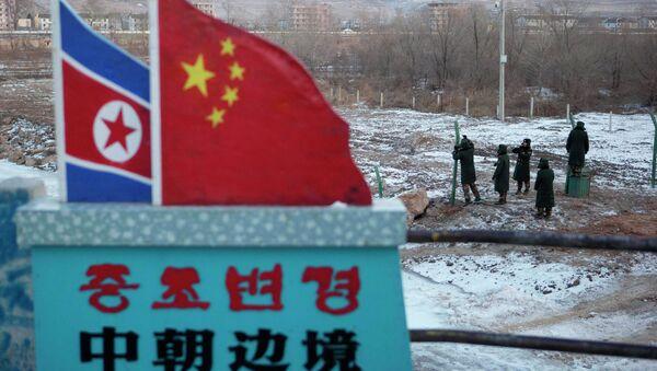 China North Korea Border - Sputnik International
