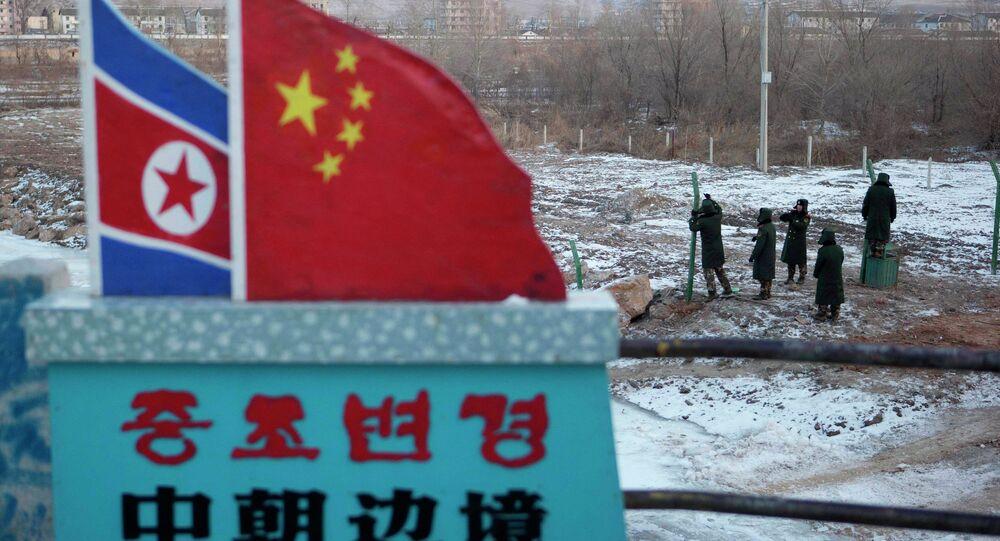 China North Korea Border