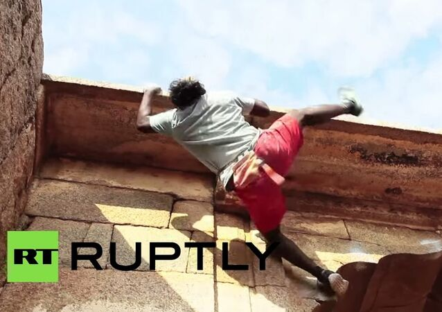 Real-life Spider-Man: Indian daredevil scales buildings with bare hands