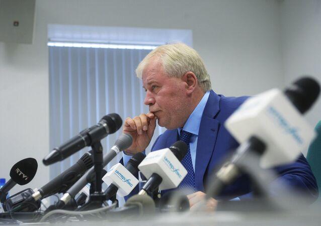 Press conference of lawyer Anatoly Kucherena on Edward Snowden's case