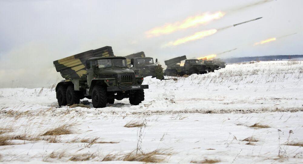 Artillery drills