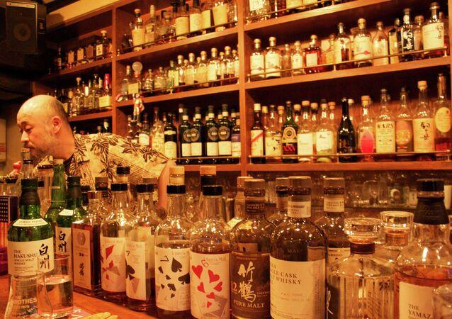 Whiskey bar in Tokyo