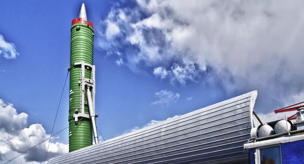 The ICBM RT-23, nicknamed the 'Good Sport' (Molodets)