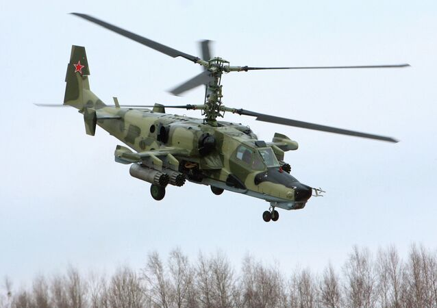 The Kamov Ka-50 attack helicopter, nicknamed the 'Black Shark' (Chernaya Akula), as it often features a matte black paint job.