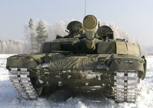 The T-72B2 'Rogatka', which translates as 'Slingshot'.
