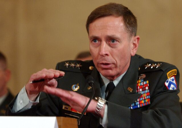 Lt. Gen. David Petraeus testifies on Capitol Hill in Washington, Tuesday, Jan. 23, 2007, before the Senate Armed Services Committee's confirmation hearing on his nomination to Multi-National Forces in Iraq.