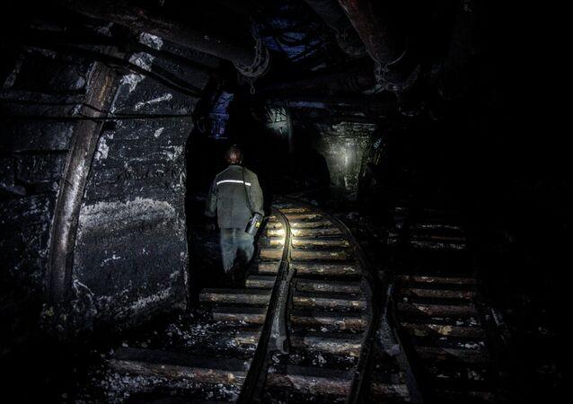 Donbas mines