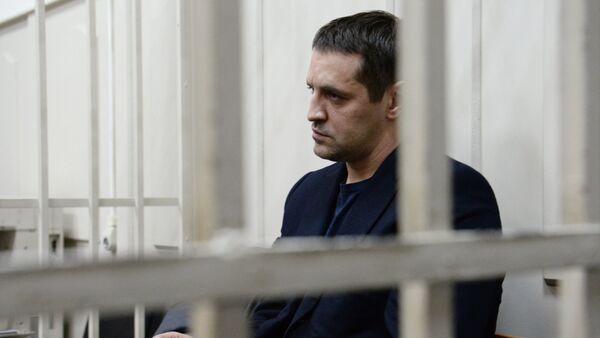 Judge Natalia Mushnikova ruled that Andrei Ikramov should be kept in pre-trial detention until April 27 Above: Andrei Ikramov. - Sputnik International