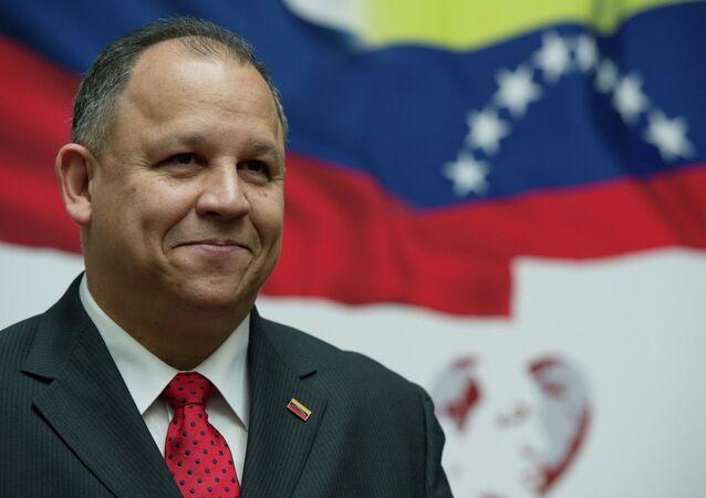 Venezuelan Ambassador Juan Vicente Paredes Torrealba