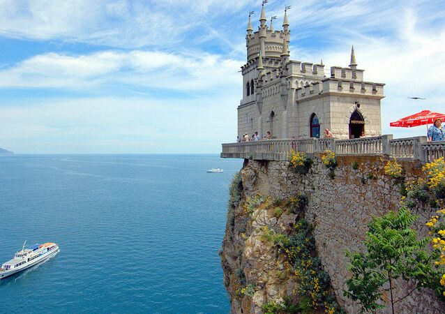 Swallow's Nest castle in Crimea