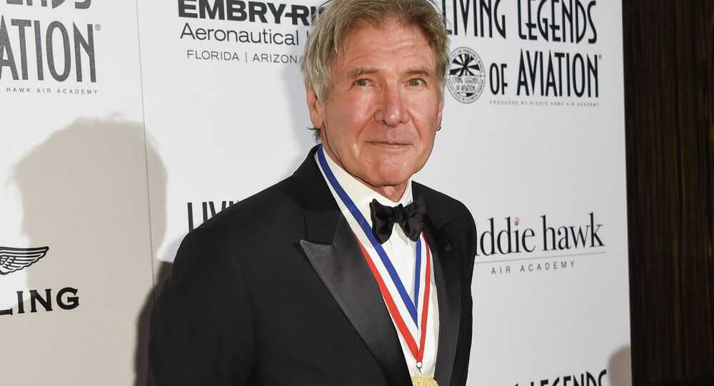 Harrison Ford attends the 12th Annual Living Legends of Aviation Awards