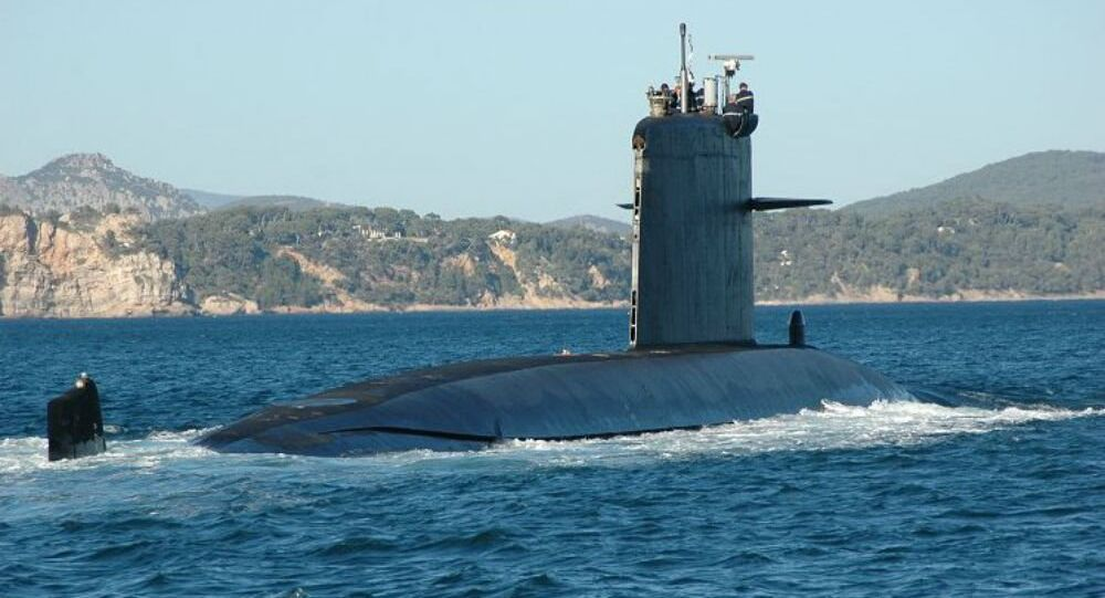 The French Navy's Saphir Rubis-class nuclear attack submarine