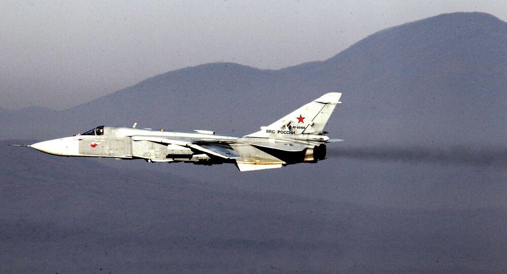 Sukhoi 24 bomber