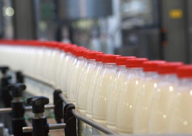 Dairy farm Petmol, a subsidiary of Unimilk Company in St. Petersburg