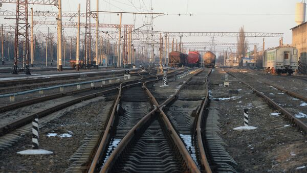Debaltseve railway station - Sputnik International