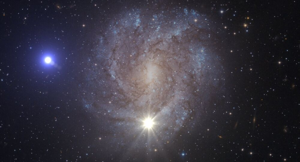 A supernova and the ejected star