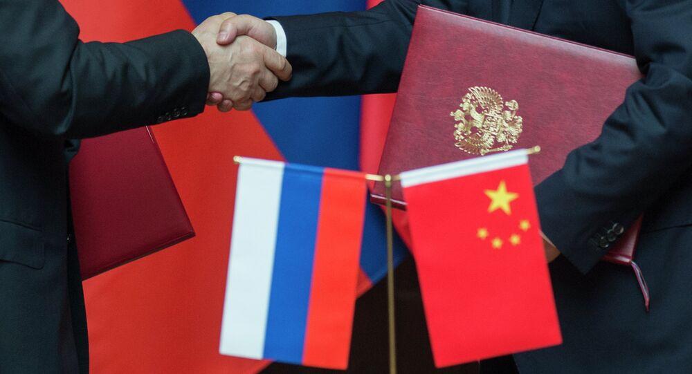 Vladimir Putin during official visit to People's Republic of China