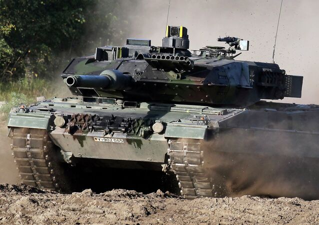 A Leopard 2 tank is pictured during a demonstration event held for the media by the German Bundeswehr in Munster near Hannover, Germany. (File)
