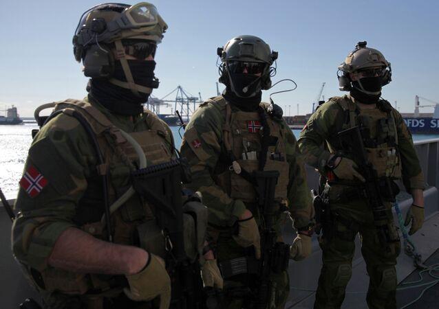 Norwegian navy special forces