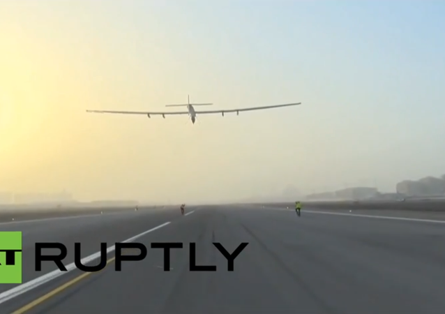 Sun Rays Instead of Jet Fuel: Solar Impulse 2 Takes Off