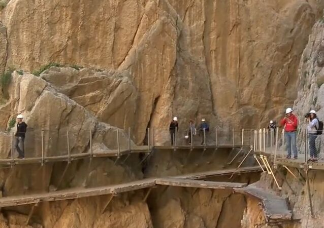 Watch Your Step! Head-Spinning Spanish 'Caminito del Rey' Reopened