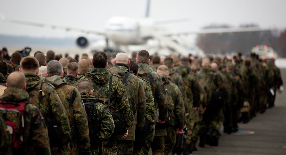 240 soldiers of the German Bundeswehr leave for the mission patriot missile defence in Turkey