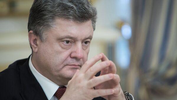 Ukraine's President Poroshenko - Sputnik International