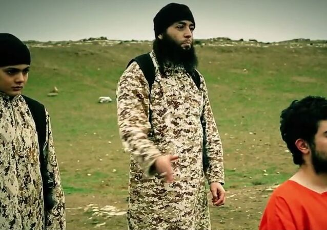 A new video posted online Tuesday by the Islamic State purports to show a young child carrying out the execution of Muhammad Musallam, and Israeli Arab who IS has claimed was a Mossad spy.