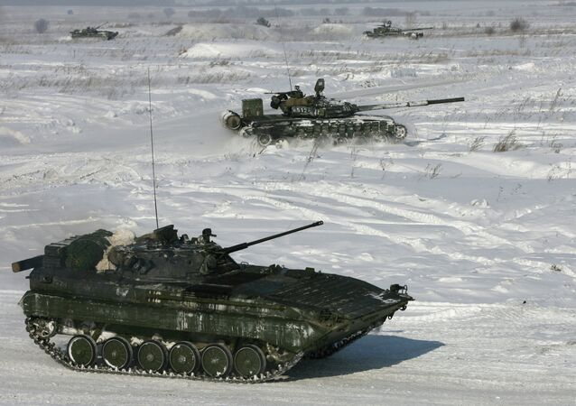 A live fire tactical exercise involving Siberian Military District Air Force and Air Defense units at the Yurga training ground in Kemerovo Region