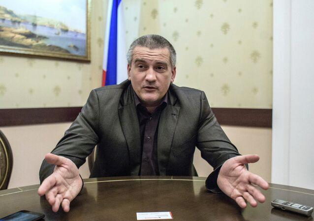 Council of Ministers Chairman of the Autonomous Republic of Crimea Sergei Aksenov
