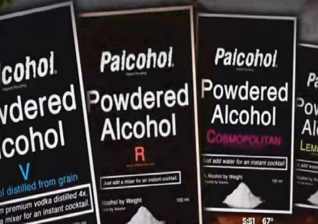 The four flavors of Palcohol that will be on shelves.