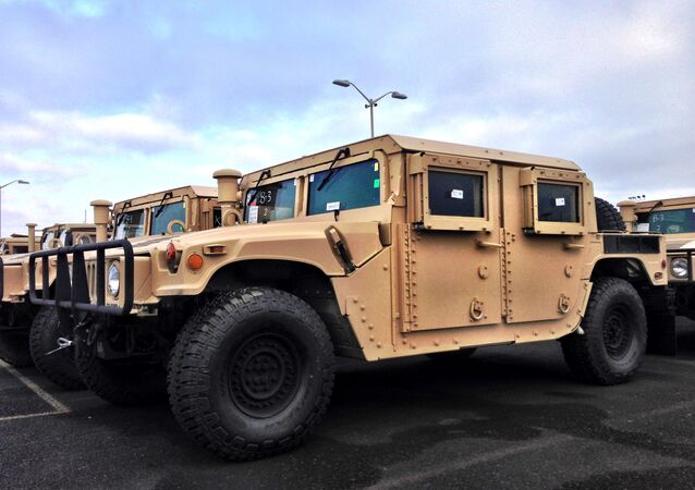 As the United States continues to mull Ukrainian requests for lethal aid, a US official has confirmed that the Pentagon will deliver a large fleet of unarmed drones and Humvees.