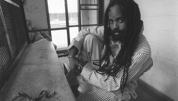 Mumia Abu-Jamal in prison circa 1998 - Sputnik International