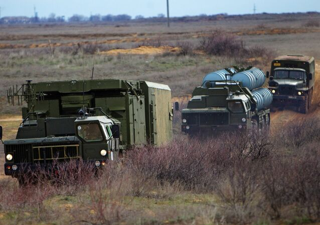 Air Defense soldiers during exercises