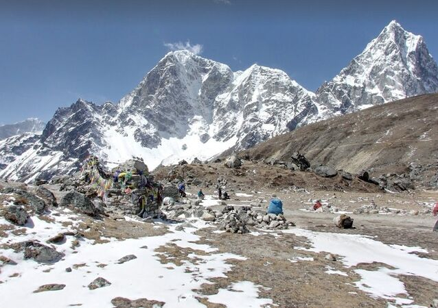 Everest Base Camp - Climbers Memorial